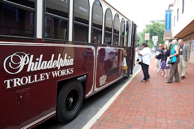 DVRPC Trolley Tour