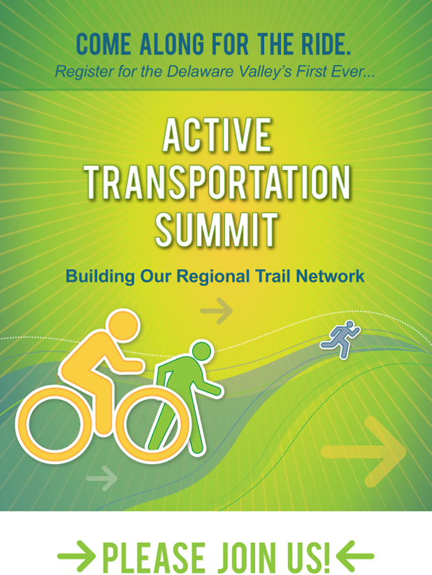 Come along for the ride. Active Transportation Summit. Building our Regional Trail Network