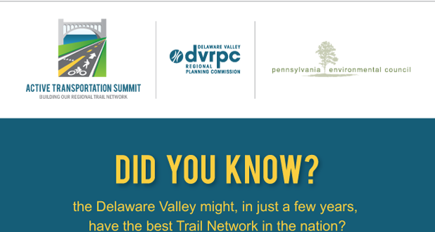 Active Transportation Summit. Delaware Valley Regional Planning Commission. Pennsylvania Environmental Council.